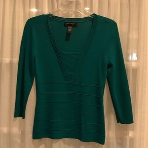 NWOT KNIT BODY CON TOP
